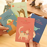 Rural Animal Pattern Creative Notebook(1 PCS Random Color)