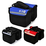 MTB Roswheel BOI Front Frame Tube Bicycle Bag Mountain Bike Cycling Pannier 2 Sides Pouch Pack Bandy Colored Bag Basket