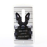 Dog Pattern TPU Soft Case for Motorola MOTOX Play
