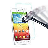 0.3mm Tempered Glass Screen Protector with Microfiber Cloth for LG G2 mini