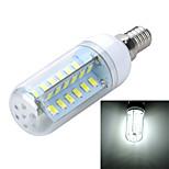 Bombillas LED de Mazorca Decorativa Marsing B E14 8W 48 SMD 5730 400-500 lm Blanco Cálido / Blanco Fresco AC 100-240 V 1 pieza