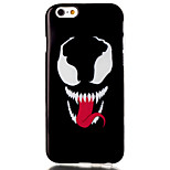 Smiling teeth Pattern TPU Painted Soft Back Cover for iPhone 6/iPhone 6S