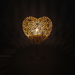 Valentine'S Day Creative Romantic Wedding Arts Crafts Gift Europe Type Hollow Out Bud Of Love, Wrought Iron Candlestick