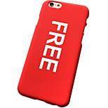 il guscio duro della lettera libera per il iphone 5 / 5s (colori assortiti)