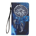 Dreamcatcher Pattern PU Leather Full Body Case with Stand for Wiko Fever