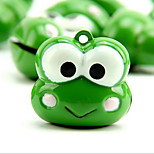 Frog Cartoon Pure Copper Pet Pendant Bell(1 PCS 3cm)