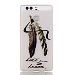 Dfeathert Luminous Dream Catcher Pattern Sofe TPU Case for Huawei P9