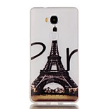 Luminous Night Eiffel Tower Pattern TPU Soft Case for Huawei Honor 5X