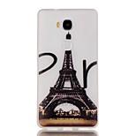 Luminous Night Eiffel Tower Pattern TPU Soft Case for Huawei Honor 5X