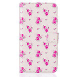 Rose Flower Pattern Embossed PU Leather Case for Sony Xperia Z5/ Xperia Z5 Compact