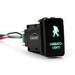 Toyota Led Push Switch With Connector Wire Kit- Laser Sasquatch Lights
