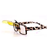 Sunglasses Unisex's Sports / Fashion Polarized / 100% UV400 / Removable / Anti-Wind Rectangle Tortoiseshell Sunglasses