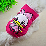 Cute Cartoon Printing Pet Vest