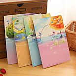 1PC Green Forest Notebook Lovely Creative Notebook Diary Stationery