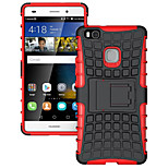 Hybrid TPU PC Hard Bracket Protective Kick Stand Case Huawei Ascend P9 Lite/P8 Lite/Y550/Nexus 6P(Assorted Colors)