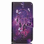 Cross Textured Leather Phone Case for Acer Liquid Z530 Z530S - Dream Catcher