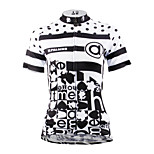 ilpaladinoSport Women Short Sleeve Cycling Jersey New Style Distinctive  DX630  spots in100% Polyester