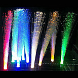 5pcs 3w blanc chaud rouge fibre optique g4 éclairage décoratif / blanc / bleu / jaune / vert / lampe led lumière (DC12V)