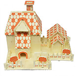 Sunnyhouse  Wood 3D Puzzles Diy Toys