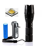 LS1670 E17 2000Lm 5-Mode CREE XM- L2 LED Flashlight Focusing Zoomable Flashlight Torch Light Kit