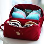 Portable Fabric Travel Storage/Packing Organizer for Bra/Underwear 26*13.5*13.5cm