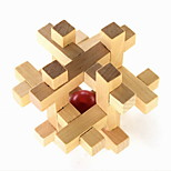 Fashion DIY Pyramorphix / Magic Ball Wood Ball In Cage Cubes