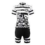 ilpaladinoSport Women Short Sleeve Cycling Jersey New Style Distinctive  DT630 spots in 100% Polyester
