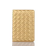 Luxury Woven Pattern Cover Case with Stand for iPad 2/3/4(Assorted Colors)