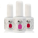 Newest Popular Top Fashion Non-toxic Soak-off UV & LED Resin Gel Polish (15ml,1-72 Colors)