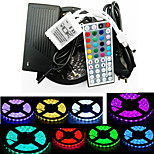 ZDM Waterproof 5M 300X5050 SMD RGB LED Strip Light and 44Key Remote Controller and 6A EU Power Supply (AC110-240V)