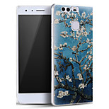 Beautiful Apricot Flower Soft Protective Back Cover Ultra Thin Huawei Case for Huawei Ascend P9