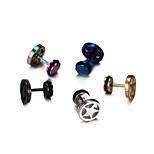 Pentagram Stainless Steel Earrings