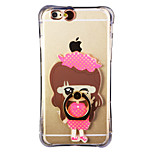 Glow in the Dark Small Town Girl with Hand Ring and Strap PC Back Case for iPhone 6Plus/6SPlus 5.5