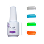 ILuve Gel Nail Polish Set - Pack Of 4 - Long Lasting 3 Weeks Soak Off UV Led Gel Varnish – For Nail Art #4051