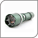 Self Defense Led Flashlight With Spike/ Cree Q5 LED 3 Mode 300 Lumens Adjustable Focus / Waterproof / Rechargeable