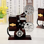 Projector Shape For Elise Music Box Plastic  Black / Silver