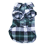 Dog Shirt Classic Plaid Pet Shirt