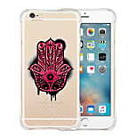 Ghost Hand Soft Transparent Silicone Back Case for iPhone 6/6S (Assorted Colors)