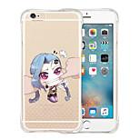 No soy su muñeca suave de silicona transparente de nuevo caso para el iPhone 5 / 5s (colores surtidos)