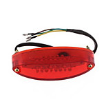 Motorcycle Taillight Ruckleuchte 28Led Dc 12v Red & White