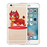 atmosfera di fiaba morbido silicone trasparente posteriore per iPhone 6 / 6s (colori assortiti)