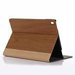 9.7 Inch Wooden Pattern PU Leather Case with Stand for ipad pro 9.7(Assorted Colors)