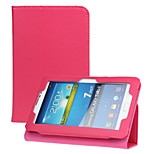 Auto-Sleep/Wake Leather Cases For 7 inch Universal Cover Case with Smart Stand Protective Case