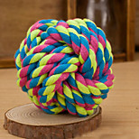 Woven Ball Dog Training Deodorant Chew Toy(Random Color)