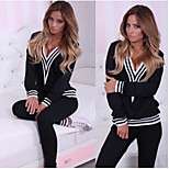 Europe And The United States The New Fashion Sportswear Spell Cap Zipper Fleece Suit Trend In Succession