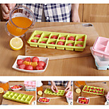12 Grid Ice Mould Multifunction Ice Tary Silicone Ice Cubes Chocolate Mould (Random Color)
