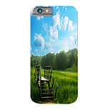 Pastoral Scenery Pattern PC Phone Case Hard Back Case Cover for iPhone5/5S