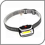 Mini Cob Led Chip Headlight/ LED Flashlights 3W ABS 3 Mode Waterproof/ AAA Battery Camping/ Hiking/ Everyday Use