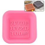The silicone cake mold handmade soap mold hand made silicone cold soap mold 50 g