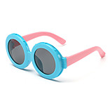 Kids Photochromic 100% UV Butterfly Full-Rim Round Sunglasses(Random Color)